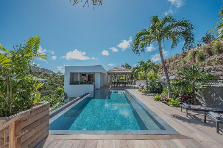 perfect Saint Barth Villa Seven luxury holiday home, vacation rental