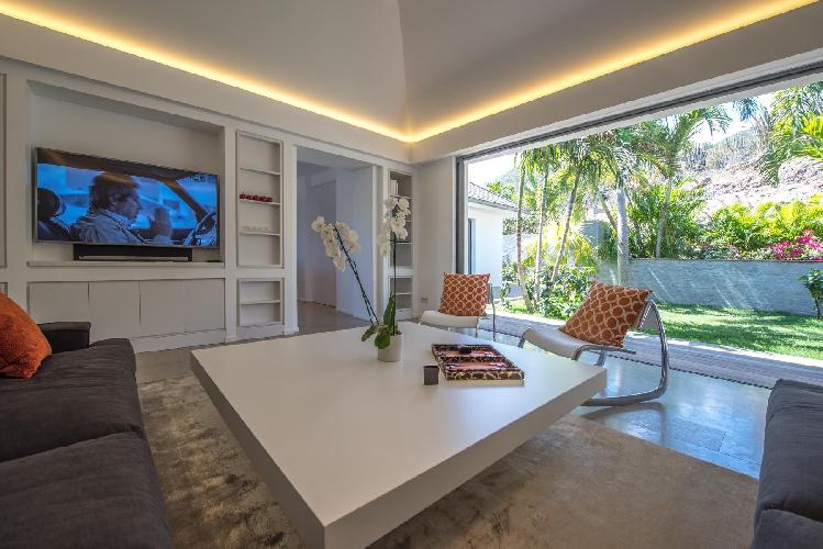 bright and breezy Saint Barth Villa Seven luxury holiday home, vacation rental