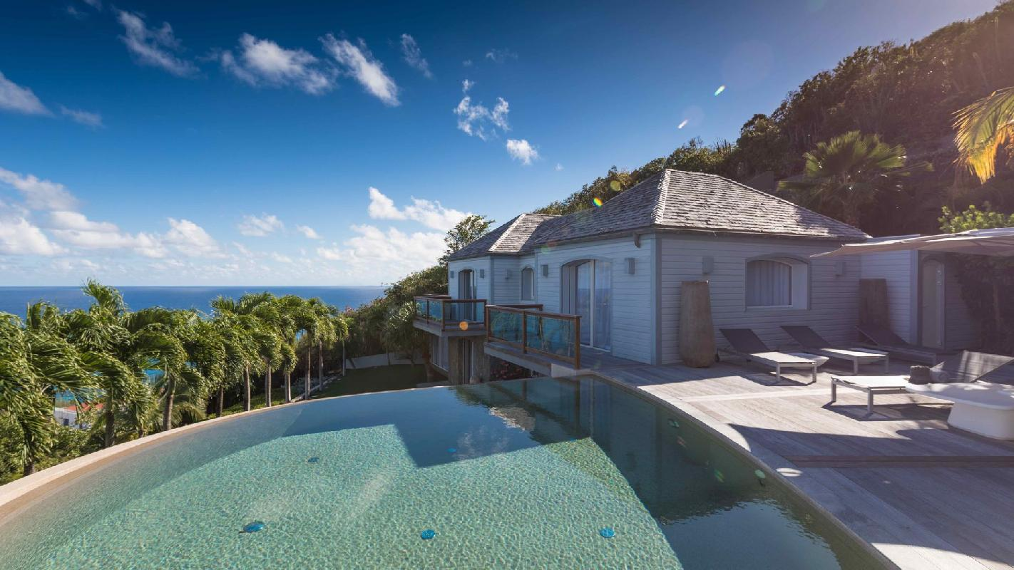 awesome Saint Barth Villa Au Rêve luxury holiday home, vacation rental