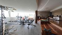 cool gym in Saint Barth Villa Au Rêve luxury holiday home, vacation rental
