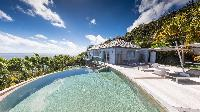 awesome pool of Saint Barth Villa Au Rêve luxury holiday home, vacation rental