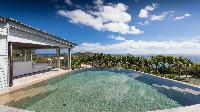 amazing pool of Saint Barth Villa Au Rêve luxury holiday home, vacation rental