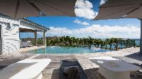cool swimming pool of Saint Barth Villa Au Rêve luxury holiday home, vacation rental