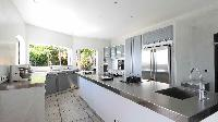 cool kitchen of Saint Barth Villa Au Rêve luxury holiday home, vacation rental