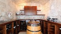 cool cellar of Saint Barth Villa Au Rêve luxury holiday home, vacation rental