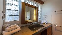 elegant bathroom in Saint Barth Villa Casa Tigre luxury holiday home, vacation rental
