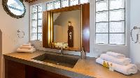 clean bathroom in Saint Barth Villa Casa Tigre luxury holiday home, vacation rental