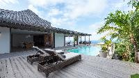 cool swimming pool of Saint Barth Villa Casa Tigre luxury holiday home, vacation rental