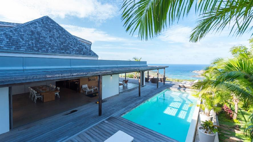 amazing Saint Barth Villa Casa Tigre luxury holiday home, vacation rental