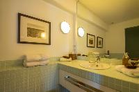 cool lavatory in Saint Barth Villa La Maison Sur Le Port luxury holiday home, vacation rental