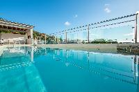 cool pool of Saint Barth Villa La Maison Sur Le Port luxury holiday home, vacation rental