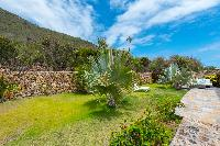 cool garden of Saint Barth Villa La Roche Dans l'Eau luxury holiday home, vacation rental