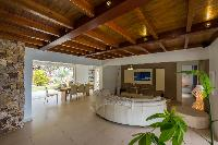 nice interiors of Saint Barth Villa La Roche Dans l'Eau luxury holiday home, vacation rental