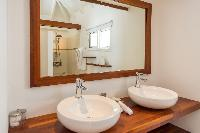 clean lavatory in Saint Barth Villa La Roche Dans l'Eau luxury holiday home, vacation rental