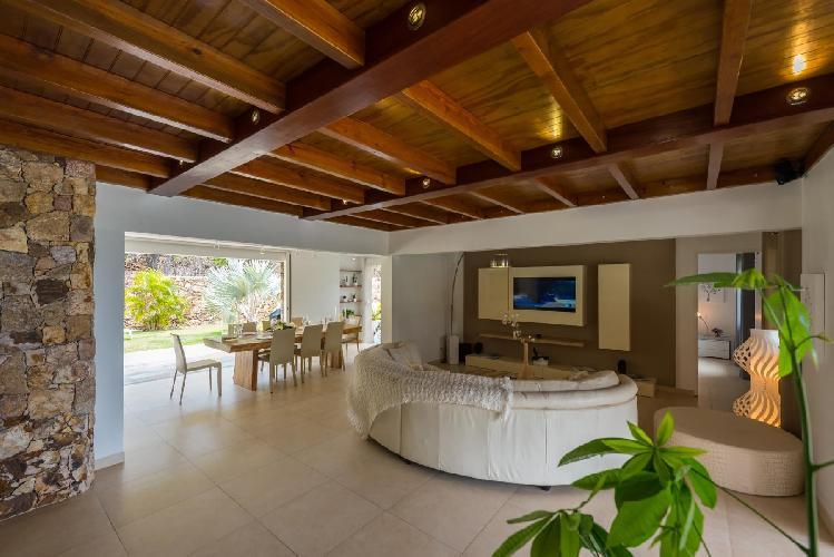 nice interiors of Saint Barth Villa La Roche Dans l'Eau luxury holiday home, vacation rental