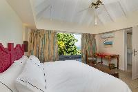clean bedroom linens in Saint Barth Villa Lagon Bleu luxury holiday home, vacation rental