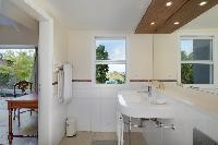 clean lavatory in Saint Barth Villa Lagon Bleu luxury holiday home, vacation rental