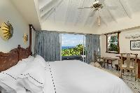 adorable bedroom in Saint Barth Villa Lagon Bleu luxury holiday home, vacation rental