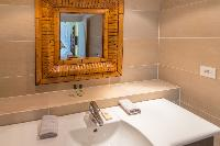 nice lavatory in Saint Barth Villa Lagon Jaune luxury holiday home, vacation rental