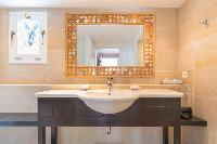 neat lavatory in Saint Barth Villa Lagon Jaune luxury holiday home, vacation rental