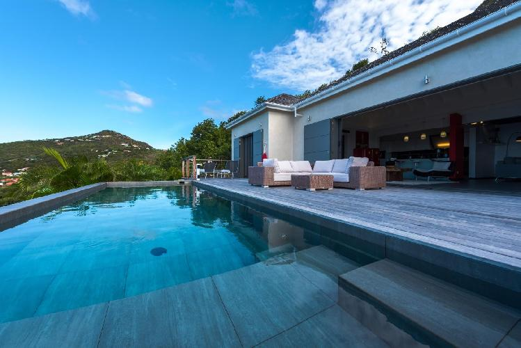 splendid Saint Barth Villa Nita luxury holiday home, vacation rental