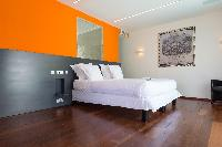 clean bedroom linens in Saint Barth Villa Wine Note luxury holiday home, vacation rental