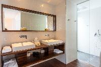 clean lavatory in Saint Barth Villa Wine Note luxury holiday home, vacation rental