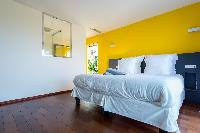 fresh bed sheets in Saint Barth Villa Wine Note luxury holiday home, vacation rental