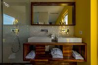 spic-and-span lavatory in Saint Barth Villa Wine Note luxury holiday home, vacation rental