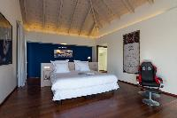 clean bed sheets in Saint Barth Villa Wine Note luxury holiday home, vacation rental