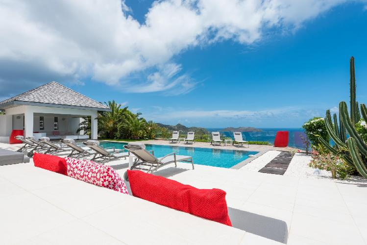 beautiful Saint Barth Villa Wine Note luxury holiday home, vacation rental
