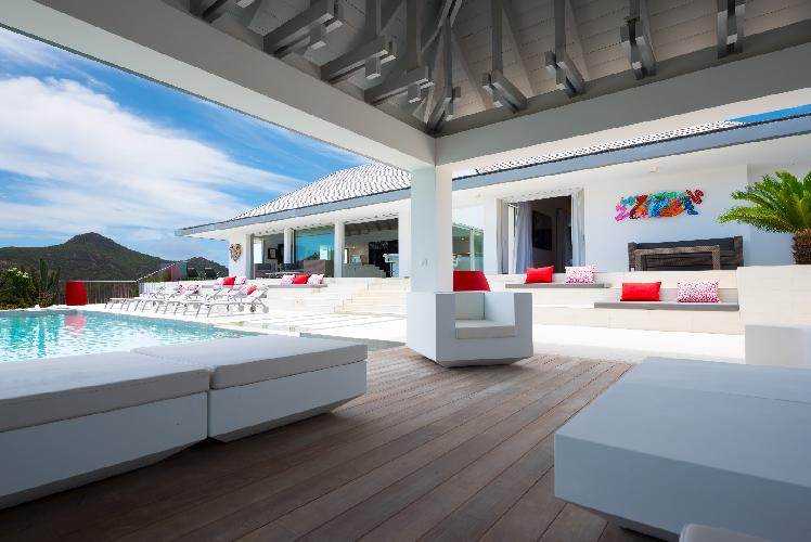 perfect Saint Barth Villa Wine Note luxury holiday home, vacation rental