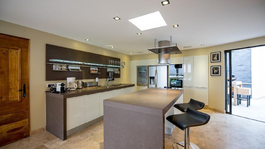 neat interiors of Saint Barth Villa Casa Paraiso luxury holiday home, vacation rental