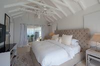 clean bedroom linens in Saint Barth Villa Gouverneur Dream luxury holiday home, vacation rental