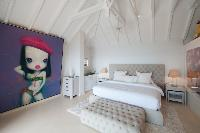 pristine bedding in Saint Barth Villa Gouverneur Dream luxury holiday home, vacation rental