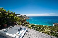 splendid sea view from Saint Barth Villa Gouverneur Dream luxury holiday home, vacation rental
