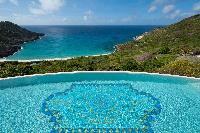 cool swimming pool of Saint Barth Villa Gouverneur Dream luxury holiday home, vacation rental