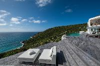 awesome sea view from Saint Barth Villa Gouverneur Dream luxury holiday home, vacation rental