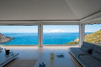 cool lanai of Saint Barth Villa Gouverneur Dream luxury holiday home, vacation rental