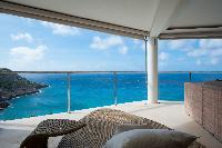 amazing sea view from Saint Barth Villa Gouverneur Dream luxury holiday home, vacation rental