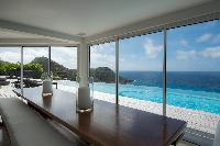 bright and breezy Saint Barth Villa Gouverneur Dream luxury holiday home, vacation rental