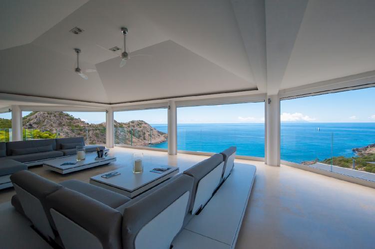 cool cabana of Saint Barth Villa Gouverneur Dream luxury holiday home, vacation rental
