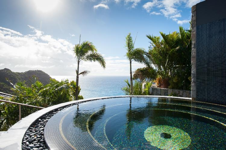 divine seafront Saint Barth Villa Gouverneur Jewel luxury holiday home, vacation rental