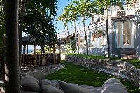 cool grounds of Saint Barth Villa Gouverneur View luxury holiday home, vacation rental