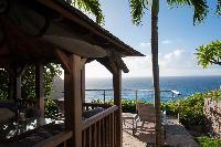 amazing sea view from Saint Barth Villa Gouverneur View luxury holiday home, vacation rental