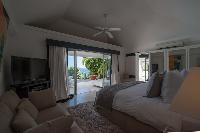 fresh bed sheets in Saint Barth Villa Gouverneur View luxury holiday home, vacation rental