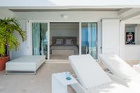 cool patio of Saint Barth Villa Gouverneur View luxury holiday home, vacation rental