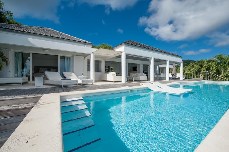 perfect Saint Barth Villa Gouverneur View luxury holiday home, vacation rental