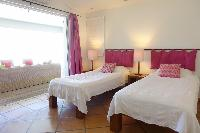 clean bed sheets in Saint Barth Villa La Colline luxury holiday home, vacation rental