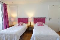 clean bedroom linens in Saint Barth Villa La Colline luxury holiday home, vacation rental